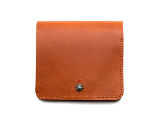 CALIFORNIA FEELING カリフォルニアフィーリング SMALL MINIMAL WALLET-BROWN