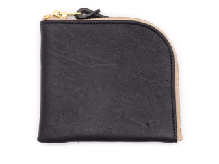 アンカーブリッジ ANCHOR BRIDGE|SHORT ZIP WALLET-KUDU-BLACK