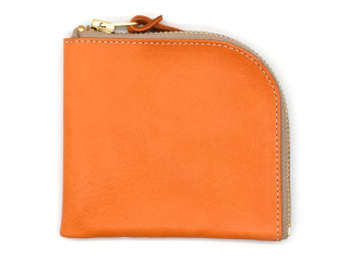 アンカーブリッジ ANCHOR BRIDGE|SHORT ZIP WALLET-NEW YORK-ORANGE