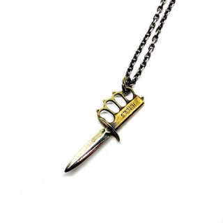 HATCHET ハチェット KNUCKLE KNIFE NECKLACE<img class='new_mark_img2' src='https://img.shop-pro.jp/img/new/icons1.gif' style='border:none;display:inline;margin:0px;padding:0px;width:auto;' />