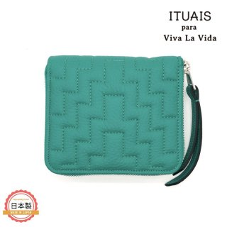 ITUAIS イトゥアイス|TAURILLON RO-RO WALLET SHORT-CHUPI-VERT JADE-GREEN<img class='new_mark_img2' src='https://img.shop-pro.jp/img/new/icons1.gif' style='border:none;display:inline;margin:0px;padding:0px;width:auto;' />