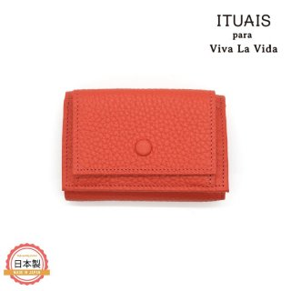 ITUAIS イトゥアイス|TAURILLON COMPACT WALLET-ROSE JAIPUR-ピンク