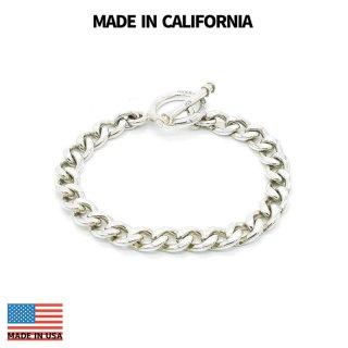 MADE IN CALIFORNIA メイドインカリフォルニア T-BAR CHAIN BRACELET-M-