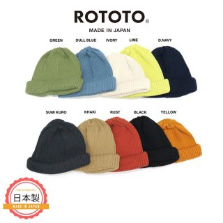 COTTON ROLL UP BEANIE<img class='new_mark_img2' src='https://img.shop-pro.jp/img/new/icons1.gif' style='border:none;display:inline;margin:0px;padding:0px;width:auto;' />