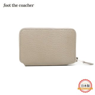 SHORT ZIP WALLET-TAUPE/WHITE<img class='new_mark_img2' src='https://img.shop-pro.jp/img/new/icons1.gif' style='border:none;display:inline;margin:0px;padding:0px;width:auto;' />