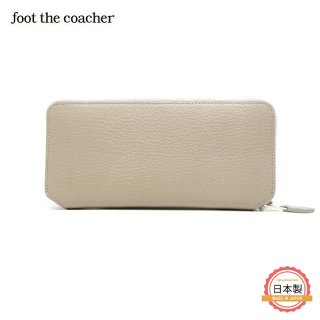 LONG ZIP WALLET-TAUPE/WHITE<img class='new_mark_img2' src='https://img.shop-pro.jp/img/new/icons1.gif' style='border:none;display:inline;margin:0px;padding:0px;width:auto;' />
