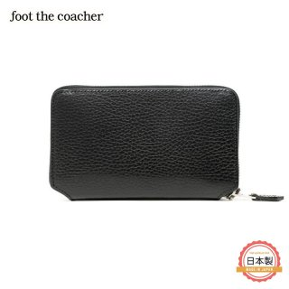 MIDDLE ZIP WALLET-BLACK/WHITE<img class='new_mark_img2' src='https://img.shop-pro.jp/img/new/icons1.gif' style='border:none;display:inline;margin:0px;padding:0px;width:auto;' />