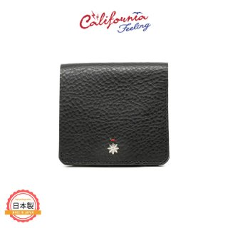 CALIFORNIA FEELING カリフォルニアフィーリング SMALL MINIMAL WALLET w/coin-BLACK<img class='new_mark_img2' src='https://img.shop-pro.jp/img/new/icons1.gif' style='border:none;display:inline;margin:0px;padding:0px;width:auto;' />