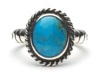 CAME ONE ケイムワン TURQUOISE RING