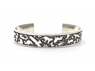 Gene Dee ジーンディ ANIMAL FLAT BANGLE-12mm