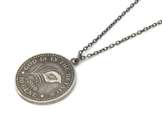 Gene Dee ジーンディ Memorial Coin Pendant 10Gene