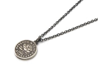 Gene Dee ジーンディ Memorial Coin Pendant 3Gene