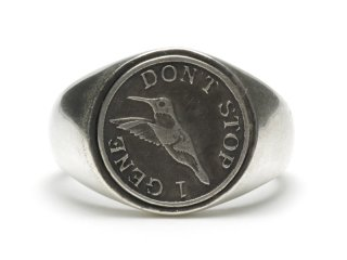 Gene Dee ジーンディ 1Gene Coin Ring(DS)