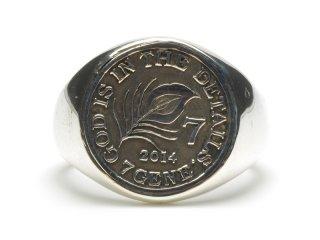 Gene Dee ジーンディ 7Gene Coin Ring