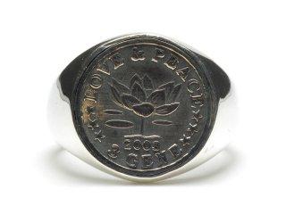 Gene Dee ジーンディ 3Gene Coin Ring