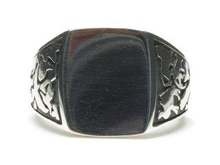 Gene Dee ジーンディ Animal Seal Ring