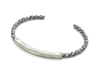 TWIST ID BANGLE