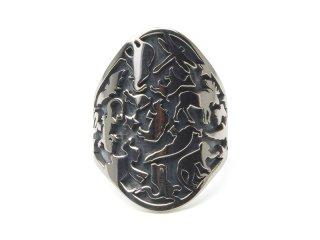 Gene Dee ジーンディ Animal Shield Ring(OVAL)