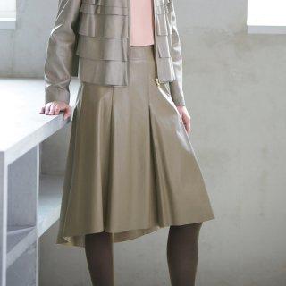 画像:1820005 ミモレスカート/レザースカート
