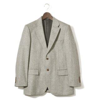 画像:5310011 カシミヤ柄織テーラード/カシミヤジャケット