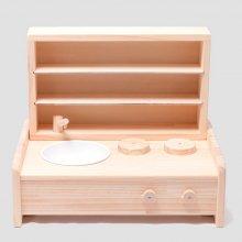 ミニキッチン棚ボックスセット【取寄商品】