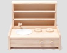 [21] ミニキッチン棚ボックスセット【取寄商品】