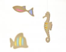 【在庫限り】モビール・そらを泳ぐ魚(3匹)