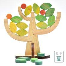 四季・木つみ木(春・夏・秋・冬)《2018グッド・トイ大賞》