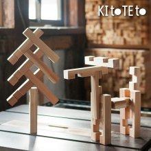 [33] 【KItoTEto】KUMINO -しっかり組める 木組みの積み木-