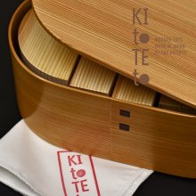 [25]【9月下旬入荷予定】【KItoTEto】 謹製・百年杉の森の積み木
