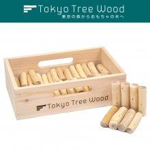 [43] ウチエダ 三寸  Tokyo Tree Wood