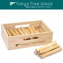 [44] ウチエダ 六寸  Tokyo Tree Wood