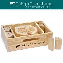 丸太の木取りつみき  Tokyo Tree Wood [カタログ掲載]