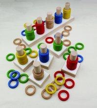 O-PEG(カラーリングペグ)【お取り寄せ商品】 (幼稚園・保育園向け)