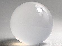 右水晶|ミルキークォーツAAA|丸玉 30mm|天然スパイラル水晶
