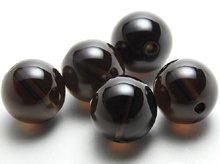 スモーキークォーツ|ラウンド12mm|左水晶・右水晶|粒売りビーズ