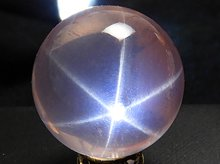 スターローズクォーツ|丸玉 15mm|左水晶・右水晶|ブラジル産
