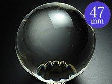 左水晶 水晶玉 47mm 143g AA No.10 天然スパイラルクォーツ(螺旋水晶)