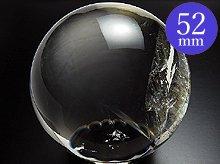 左水晶 水晶玉 52mm 196g AA No.11 天然スパイラルクォーツ(螺旋水晶)