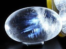 エンジェルフェザー&エンジェルラダークォーツ|左水晶|マニカラン産ヒマラヤ水晶|シバリンガム