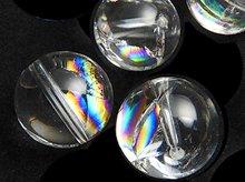 アイリスクォーツ(天然レインボー水晶)|ラウンド12mm|左水晶・右水晶|粒売り