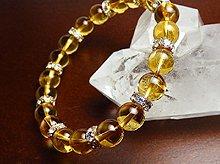 宝石質シトリン|双晶 8mm|左右両用ブレスレット