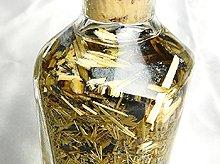 ゴールドルチル金針のボトル詰め|ガラスボトル入り金運インテリア【訳ありのため特価】|No.2