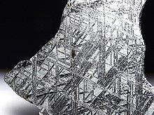 【訳あり半額】ギベオン隕石|原石スライス大型プレート|188.3g