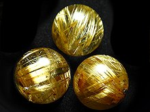 【ご予約品】高品質タイチンゴールドルチルクォーツ|10mm|粒売り