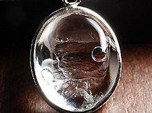 マダガスカル産水入り水晶エレスチャルクォーツ||Silver925製ペンダントトップ|No.3