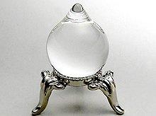 マニ宝珠|左水晶|20mm×25mm|天然スパイラル水晶