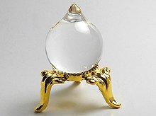 マニ宝珠|右水晶|20mm×25mm|天然スパイラルクォーツ