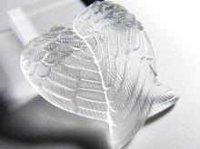 天使の翼エンジェルウィング彫刻 天然水晶製 No.3