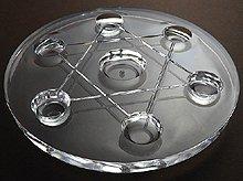 七星盤|アクリル製・足付き|直径100mm